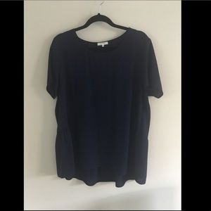 Navy top- great for work